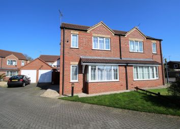 Thumbnail 3 bed semi-detached house for sale in Betjeman Close, Spalding, Lincolnshire