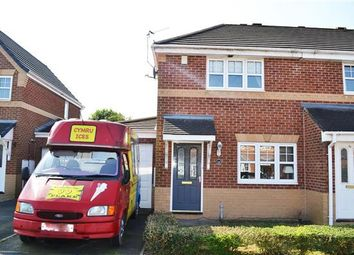 Thumbnail 3 bed semi-detached house for sale in Clough House Drive, Leigh