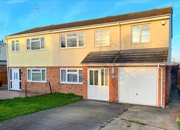 Thumbnail 4 bed semi-detached house for sale in Queensway, Lawford, Colchester