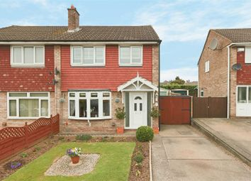 Thumbnail 3 bed semi-detached house for sale in Milford Drive, Nottingham