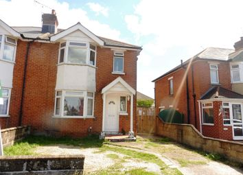 Thumbnail 3 bedroom semi-detached house for sale in King Georges Avenue, Regents Park, Southampton