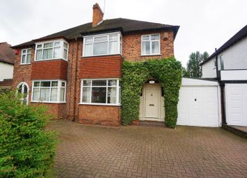 Thumbnail 3 bed semi-detached house for sale in College Road, Sutton Coldfield