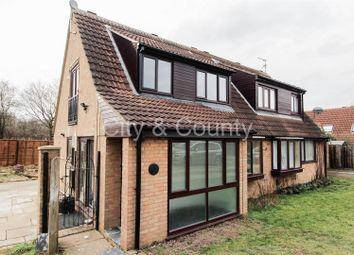 Thumbnail 3 bed semi-detached house for sale in Everingham, Orton Brimbles, Peterborough