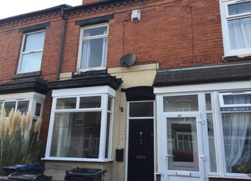Thumbnail 2 bed terraced house for sale in Gleave Road, Selly Oak, Birmingham