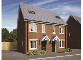 Thumbnail 3 bed town house for sale in Plot 212, Badbury Park, Rainscombe Road, Swindon, Wiltshire
