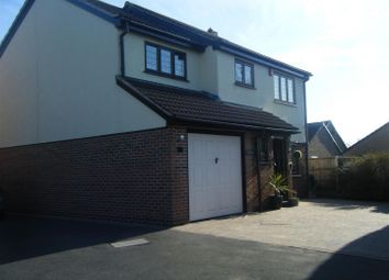 Thumbnail 4 bed detached house for sale in Kedleston Close, Stretton, Burton On Trent