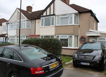 Thumbnail 4 bed semi-detached house to rent in Fernside Avenue, Feltham