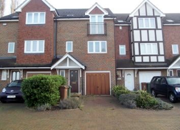 Thumbnail 4 bed town house for sale in Stirling Close, Sidcup