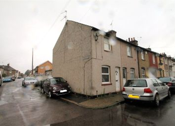 Thumbnail 2 bed end terrace house to rent in Sun Road, Swanscombe, Kent