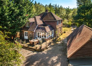 Thumbnail 4 bedroom detached house for sale in Sandy Lane, Rushmoor, Farnham, Surrey