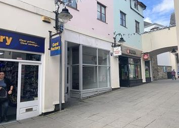 Thumbnail Retail premises to let in Unit 10, Wharfside Shopping Centre, Market Jew Street, Penzance, Cornwall