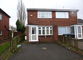 Thumbnail 2 bedroom semi-detached house for sale in Gospel Oak Road, Ocker Hill, Tipton