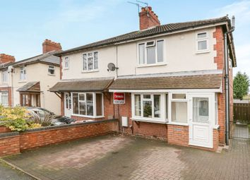 Thumbnail 3 bed semi-detached house for sale in Victoria Road, Wednesfield, Wolverhampton