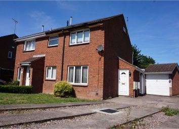 Thumbnail 1 bed semi-detached house for sale in Beverston Road, Perton, Wolverhampton