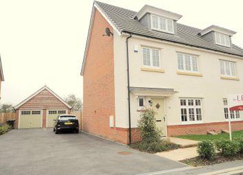 Thumbnail 4 bed semi-detached house to rent in Saxon Mews, Sherburn In Elmet, Leeds