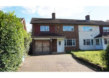Thumbnail 3 bed end terrace house for sale in Falconwood Road, Croydon