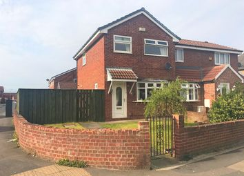 Thumbnail 3 bed semi-detached house to rent in Longfield Road, Darlington