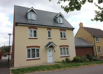 Thumbnail 5 bedroom detached house for sale in Fontmell Close, Swindon