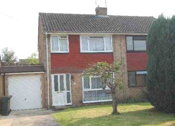 Thumbnail 3 bed semi-detached house to rent in Lemonfield Drive, Watford