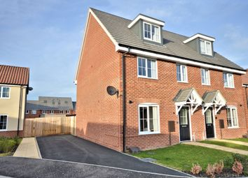 Thumbnail 3 bed semi-detached house for sale in Mulberry Drive, Dereham