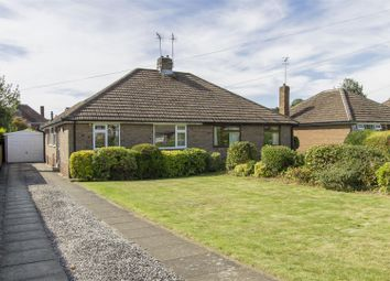 Thumbnail 3 bed semi-detached bungalow for sale in Morley Avenue, Ashgate, Chesterfield