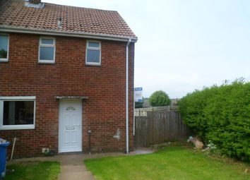 Thumbnail 3 bed semi-detached house to rent in Yoden Road, Peterlee