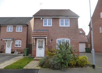 Thumbnail 3 bed detached house to rent in May Drive, Glenfield
