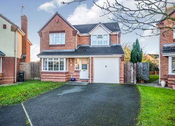 Thumbnail 4 bed detached house for sale in Greyfriars Close, Dudley