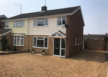 Thumbnail 3 bedroom semi-detached house for sale in Culworth Crescent, Kingsthorpe, Northampton