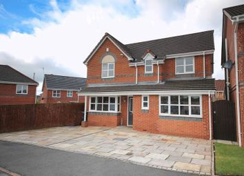 Thumbnail 4 bed detached house for sale in Naburn Drive, Orrell, Wigan