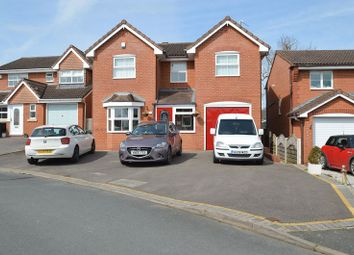Thumbnail 4 bed detached house for sale in Moorcroft Gardens, Walkwood, Redditch
