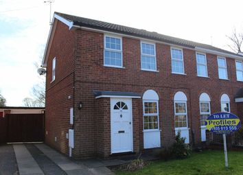 Thumbnail 3 bed semi-detached house to rent in The Ridgeway, Burbage, Hinckley