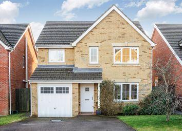 Thumbnail 4 bed detached house for sale in Barnard Way, Church Village, Pontypridd