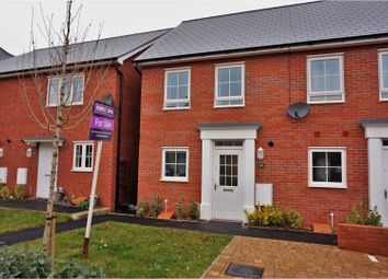 Thumbnail 2 bedroom end terrace house for sale in Whitaker Close, Exeter