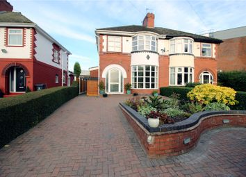Thumbnail 3 bed semi-detached house for sale in Cemetery Road, Shelton, Stoke On Trent