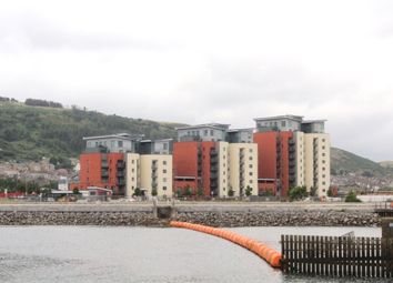 Thumbnail 2 bedroom flat to rent in South Quay, Swansea