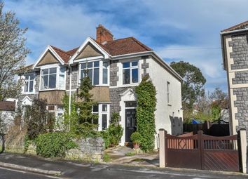 Thumbnail 3 bed semi-detached house for sale in Chesham Road North, Weston-Super-Mare
