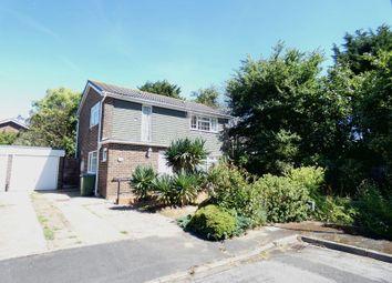 Thumbnail 3 bed detached house for sale in Derwent Close, Stubbington, Fareham