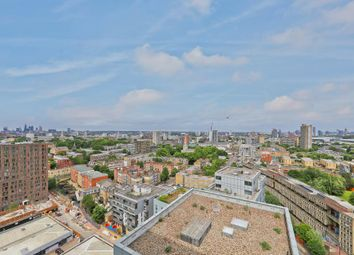 Thumbnail 1 bed flat for sale in Wharfside Point South, 4 Prestons Road, London