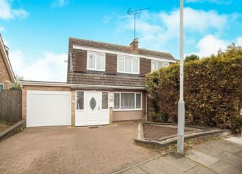 Thumbnail 3 bed semi-detached house for sale in Loftus Close, Luton, Bedfordshire, England