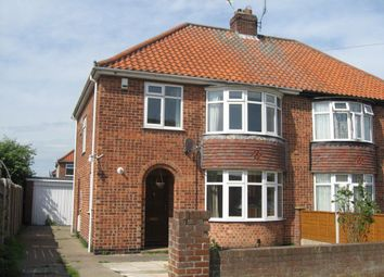 Thumbnail 3 bedroom semi-detached house to rent in Broome Close, Huntington, York