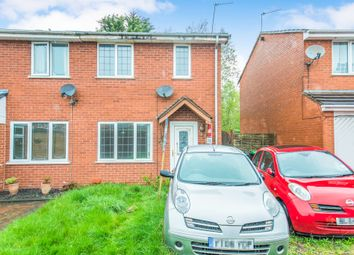 Thumbnail 2 bed semi-detached house for sale in Hopton Close, Tipton