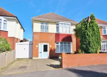 Thumbnail 3 bed detached house for sale in Huntfield Road, Moordown, Bournemouth