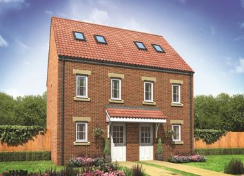 "Thumbnail 3 bed end terrace house for sale in ""The Moseley"" at Coquet Enterprise Park, Amble, Morpeth"