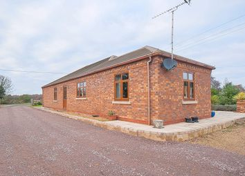 Thumbnail 4 bed detached bungalow for sale in Dog Drove South, Holbeach Drove, Spalding