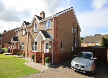 Thumbnail 3 bed semi-detached house for sale in Lord Warden's Glade, Bangor