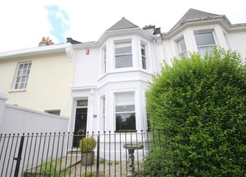 Thumbnail 3 bed terraced house for sale in Portland Road, Stoke, Plymouth