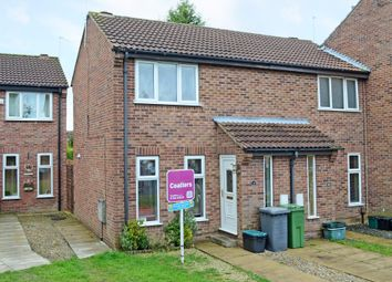 Thumbnail 1 bed terraced house to rent in Eaton Court, York