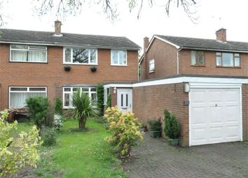 Thumbnail 3 bed semi-detached house for sale in Churchill Drive, Upper Bruntingthorpe, Lutterworth