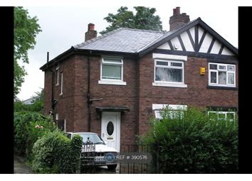 Thumbnail 3 bed semi-detached house to rent in Crossley Road, Manchester